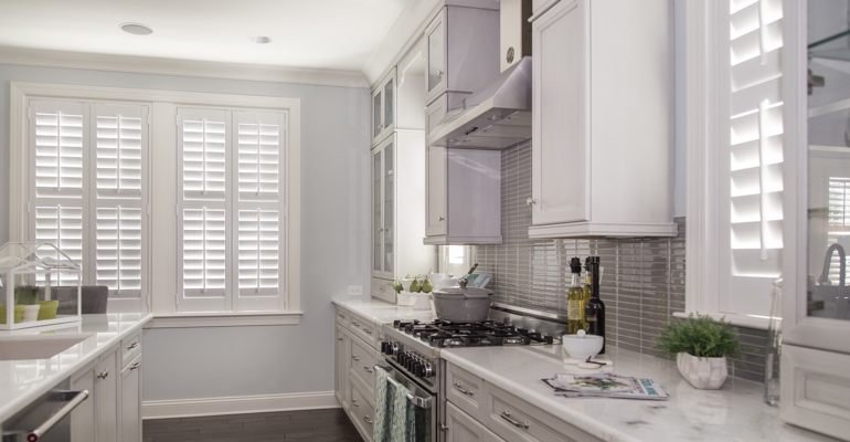 Las Vegas kitchen white shutters