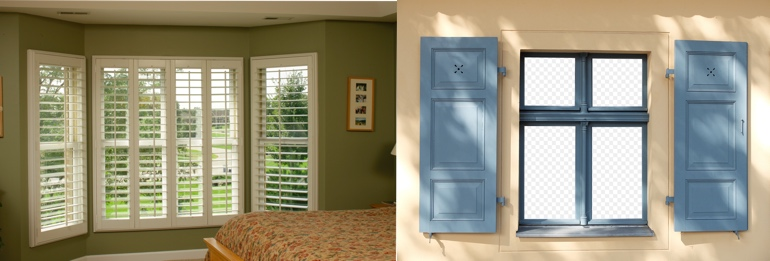 Las Vegas NV outdoor and indoor shutters