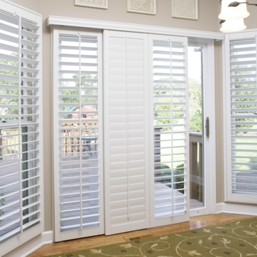Sliding Door Patio Shutters