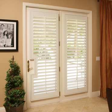 Patio French Door Shutters Las Vegas