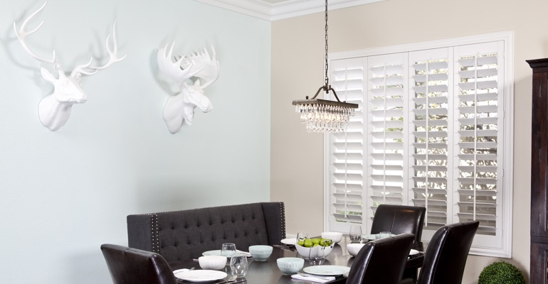Las Vegas dining room shutters
