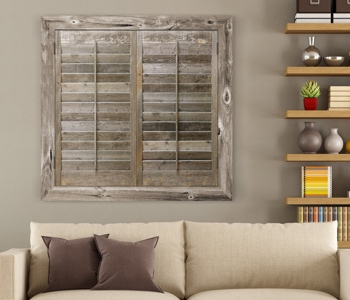 Reclaimed Wood Shutters Product In Las Vegas