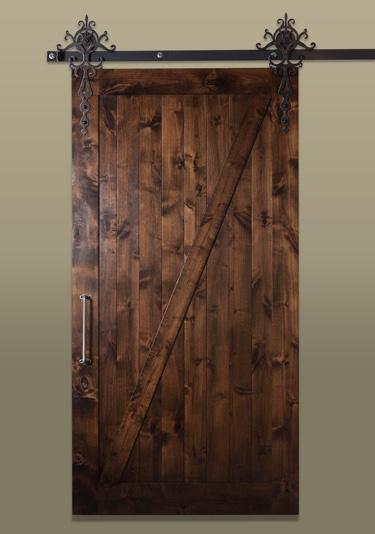 Sliding barn doors sunburst shutters las vegas nv for Door hardware las vegas