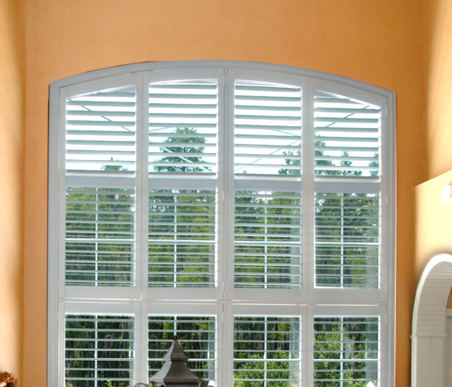 Arched Window Shutters In Las Vegas, NV