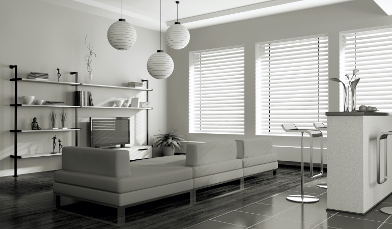 white blinds in Las Vegas