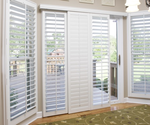 NV patio door shutters