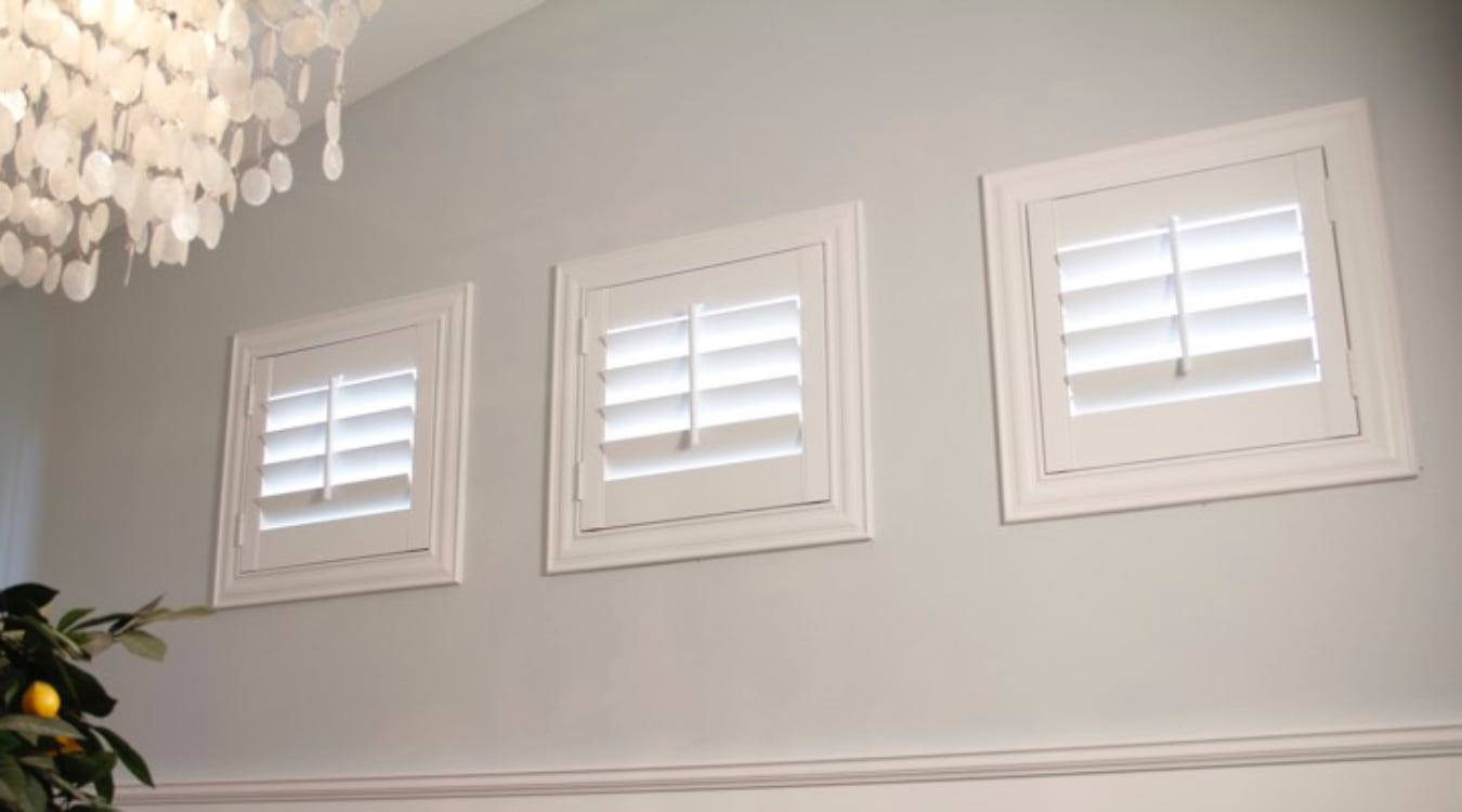 Window treatments for specialty windows sunburst for Best window treatments for casement windows