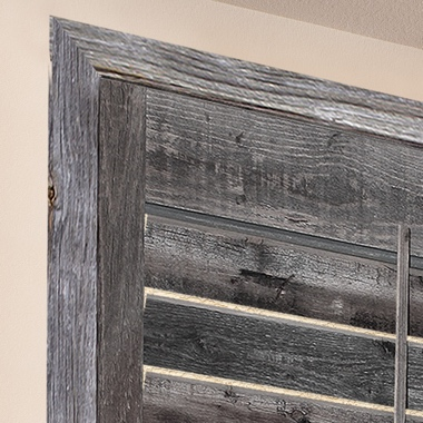 Reclaimed Wood Shutters - L Frame