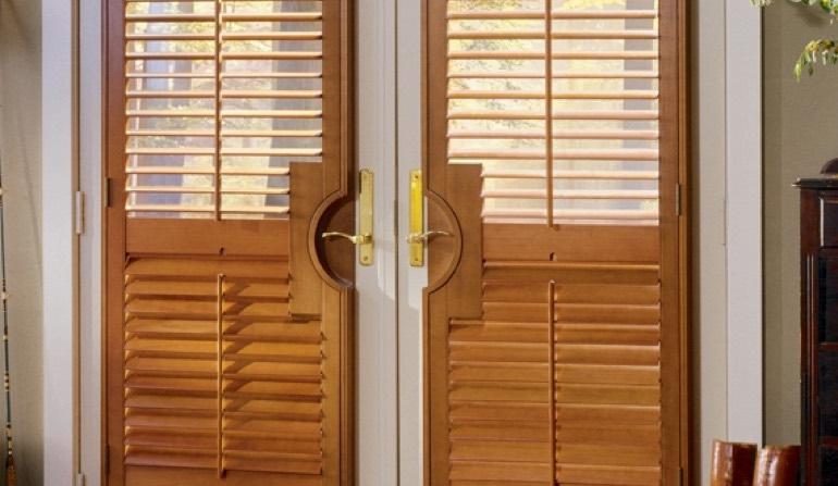 French Door Shutters In Las Vegas Sunburst Shutters Las Vegas Nv