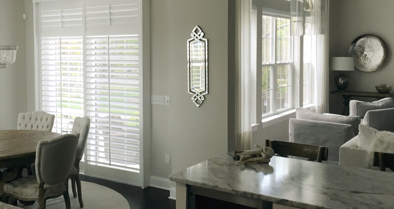Las Vegas kitchen patio door shutters