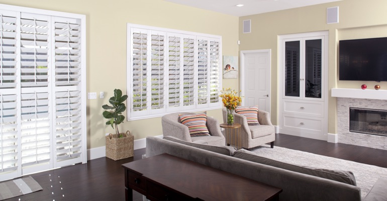 Cleaning Polywood shutters in Las Vegas is simple