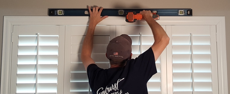 Las Vegas shutter installer window measurement