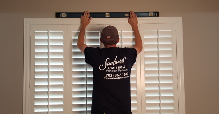 Las Vegas plantation shutter measurement