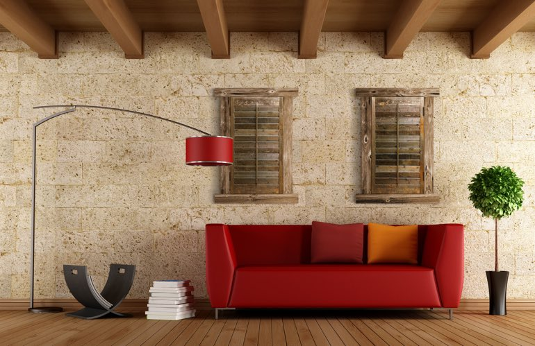 Hottest Trends In Window Treatments In Las Vegas: Reclaimed Wood Shutters
